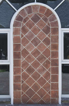 door tile tiles plain arch