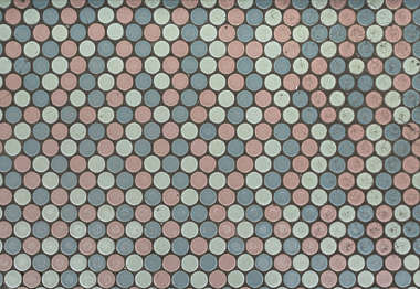 tiles round small japan