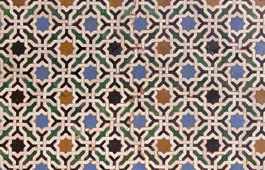 moorish tile ornate pattern zellige zillij zellij