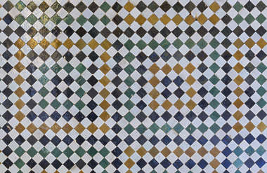 tiles morocco ornate zellige zillij zellij stucco border trim