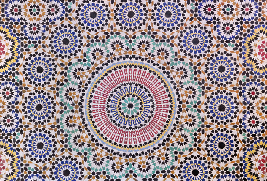 Tileszellige0081 Free Background Texture Tiles Morocco