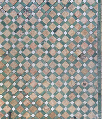 tiles floor morocco ornate