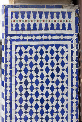 tiles small moorish