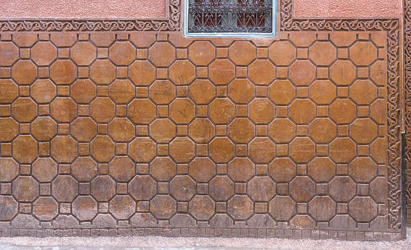 tiles zellige morocco ornate moorish old octogonal dirty