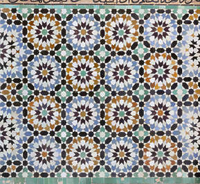 tiles zellige morocco ornate moorish