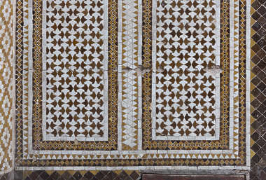 tiles zellige morocco ornate moorish arch arches