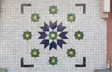 tiles small ornament ornate mosaic morocco