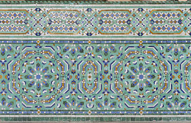 morocco ornament ornate tiles zellige border moorish