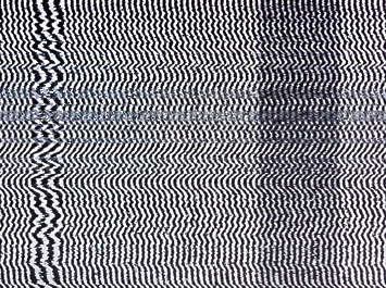 noise TV television static