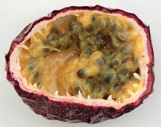 food foodstuff passion fruit