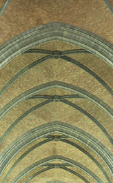 church roof ceiling bricks arches vault vautling cathedral abstract