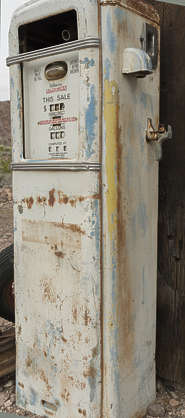 USA nelson ghost town ghosttown fuel pump metal rusted petrol old vintage gas gasoline