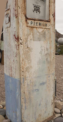 USA nelson ghost town ghosttown fuel pump fuelpump old rusted petrol vintage gas gasoline
