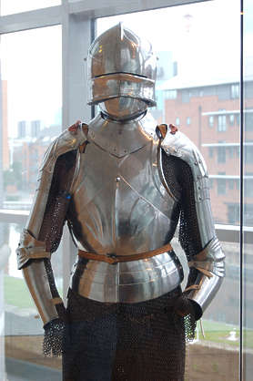 armor knight metal