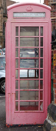 telephone booth english