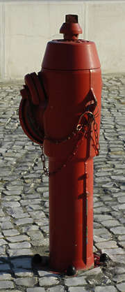 fire hydrant pole