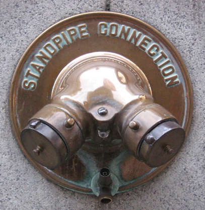 standpipe fire connection