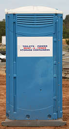 toilet porta potty portable