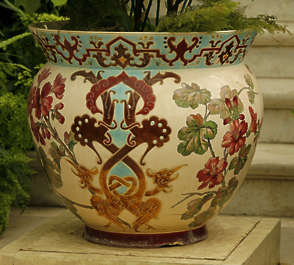 flower pot ornate