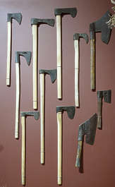 weapon axe reference axes