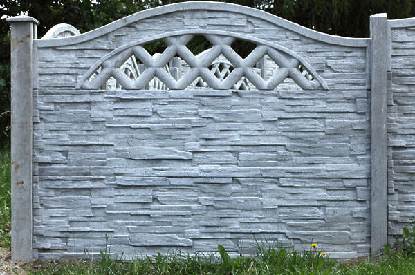 fence wall concrete