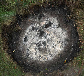 fire firepit campfire ash ashes