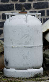 gas canister bottle