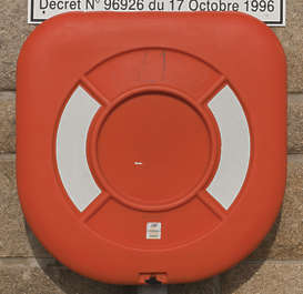 lifebuoy life buoy flotation device water harbour ship