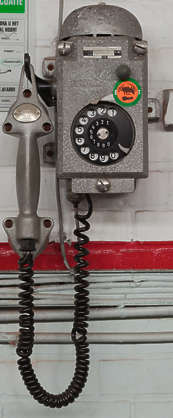 telephone old industrial