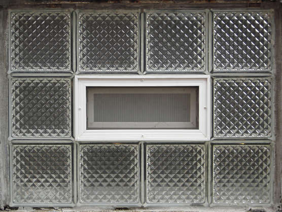 glass blocks window