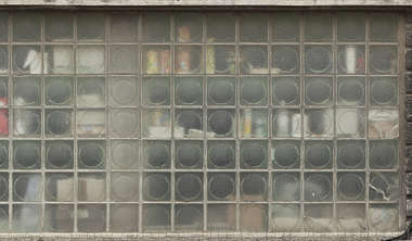 window glass blocks block