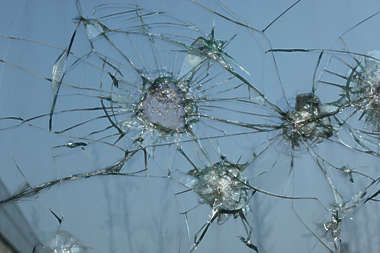 glass broken hole bullet crack cracks cracked