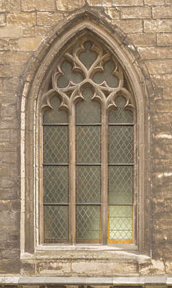 window church ornate old stone