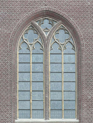 window ornate church