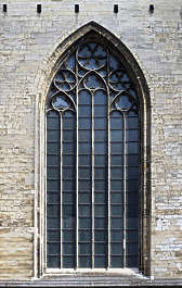 window church arch stained gothic