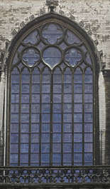 window church old gothic ornament