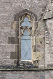 window ornate church old medieval UK