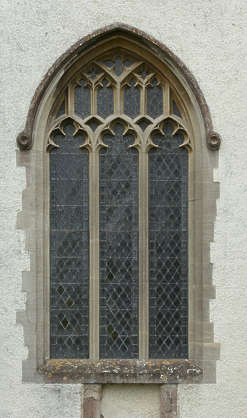 window cathedral church ornate UK