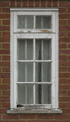UK window wooden house