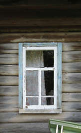 window wood house old