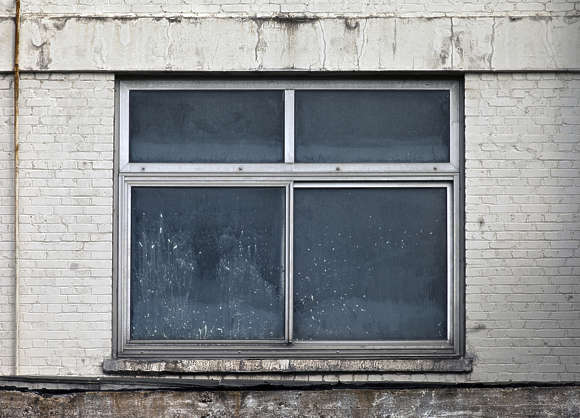 window industrial old broken derelict house metal aluminium