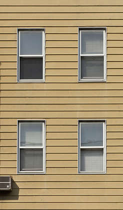 new york ny building facade window windows wood house