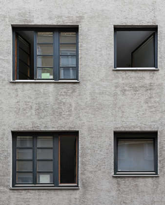 vienna austria window house old