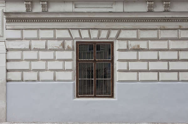 vienna austria window tenement wooden house old