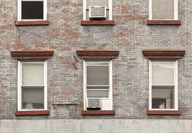 window windows house old residential new york ny united states usa