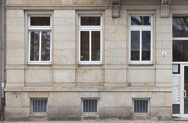 facade building windows tenement residential