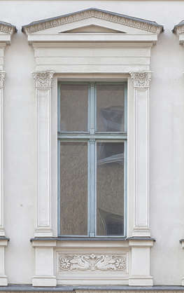 window house residential neoclassical