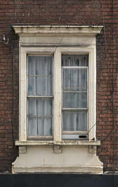 window house old wooden UK