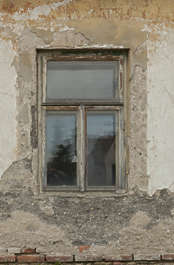 window house wooden old