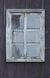 window wooden old
